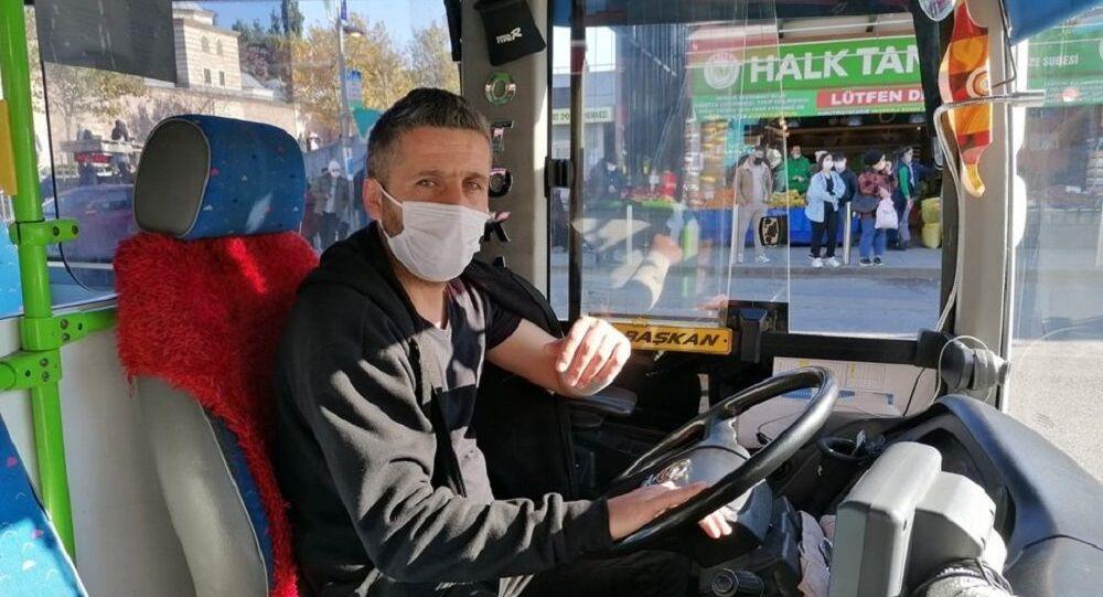 Trafikte tartıştığı halk otobüsü şoförüne copla saldırdı