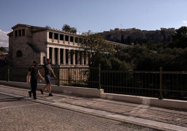 Yunanistan koronavirüs