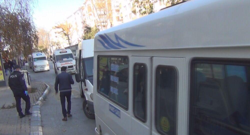 Test sonucunu beklemeyen şoför polis tarafından direksiyon başında yakalandı