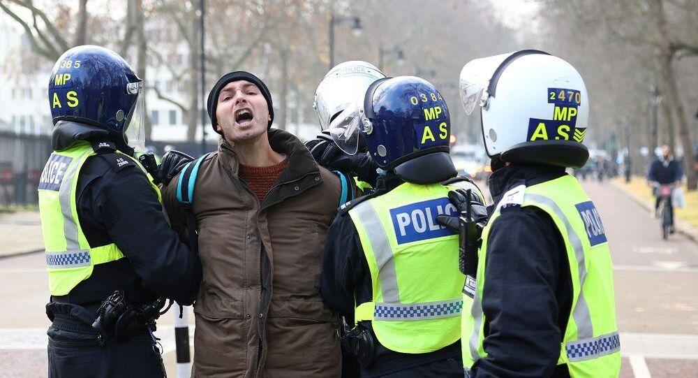 Londra protesto