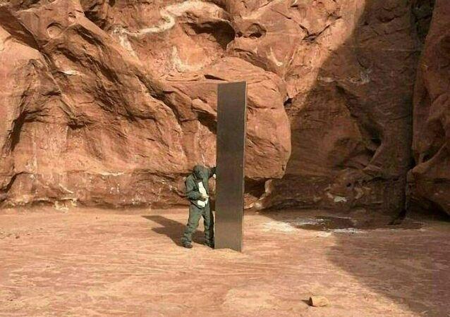 ABD Utah'ta bulunan monolit