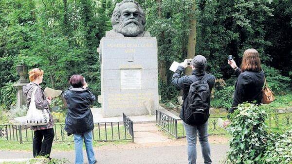 Karl Marx'ın mezarı - Sputnik Türkiye
