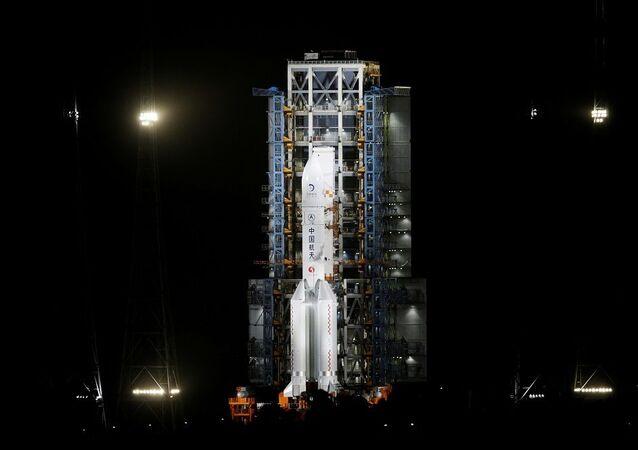 Çin'in Chang'e 5 uzay aracı