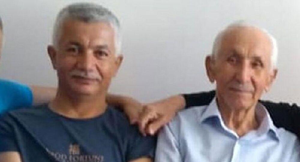 aynı gün arklı şehirlerde Kovid-19 nedeniyle ölen baba ile oğul