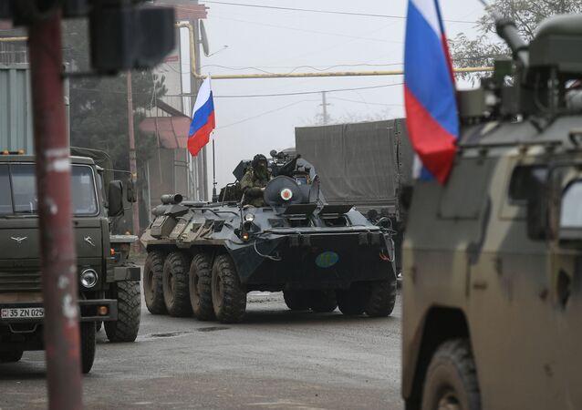 Rus barış güçleri, Dağlık Karabağ