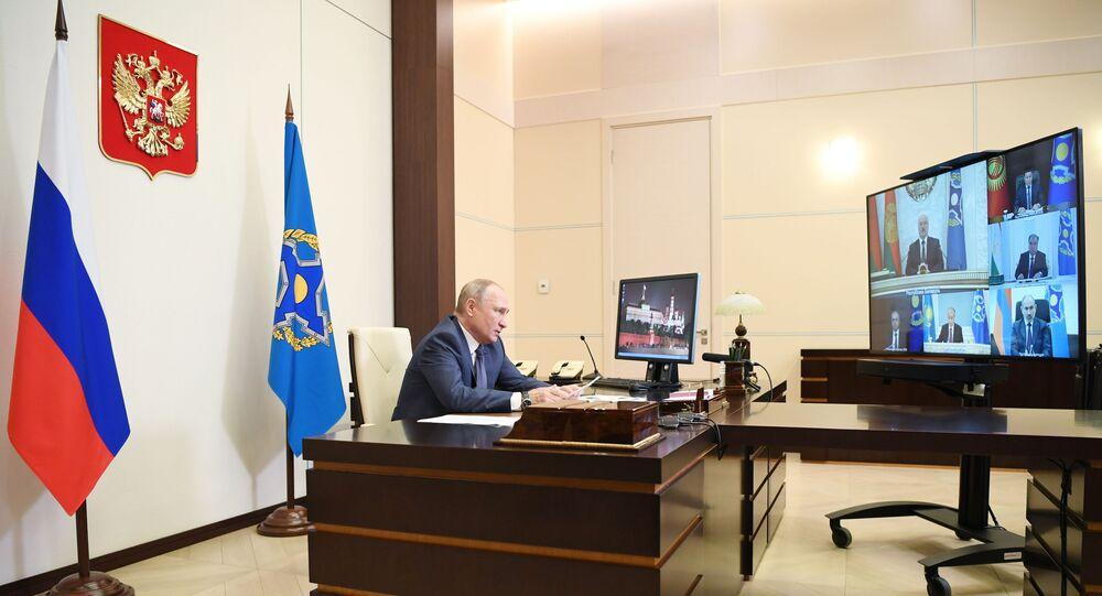 Vladimir Putin - Kolektif Güvenlik Anlaşması Örgütü