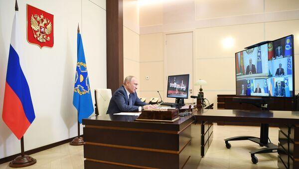 Vladimir Putin - Kolektif Güvenlik Anlaşması Örgütü - Sputnik Türkiye