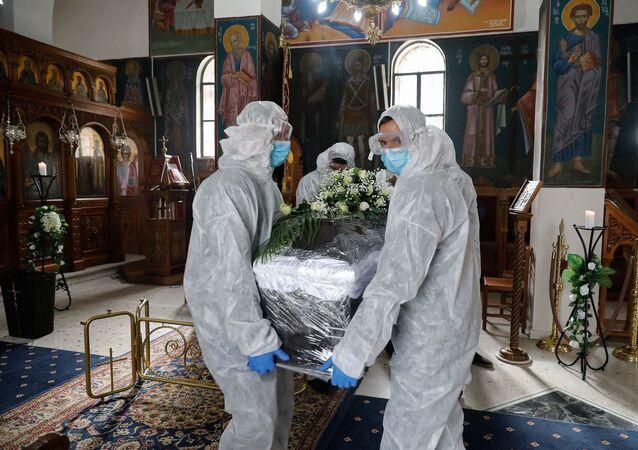 Yunanistan - koronavirüs - Kovid-19 - cenaze