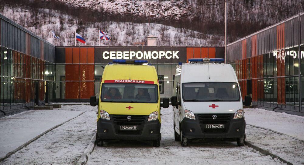 koronavirüs, hastane, ambulans, Rusya