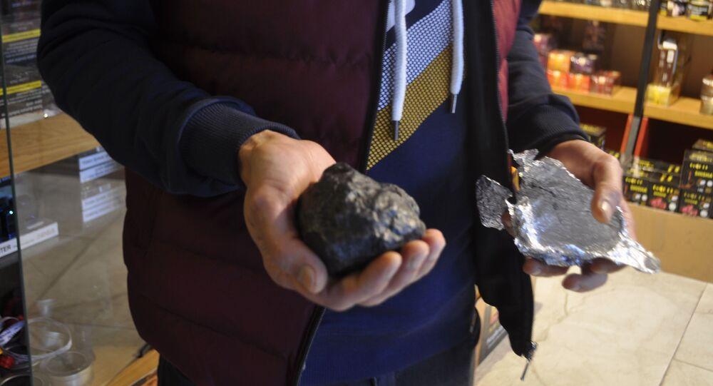 göktaşı olduğu iddia edilen taş
