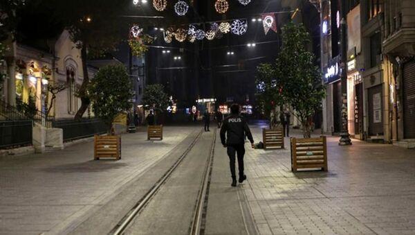 Sokağa çıkma kısıtlaması - Sputnik Türkiye
