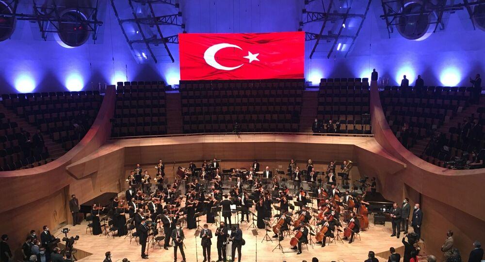 Ankara'da Cumhurbaşkanlığı Senfoni Orkestrası'nın açılışı