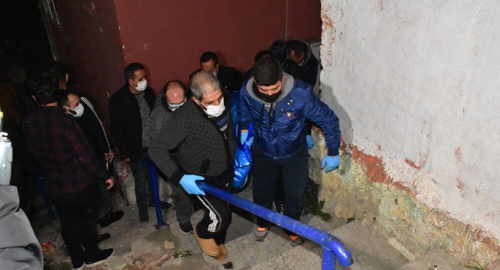 İzmir Buca'da kadın cinayeti