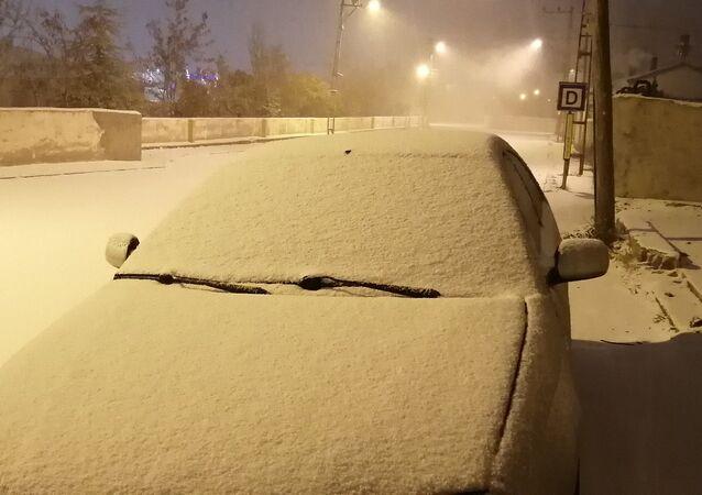 Van, kar yağışı