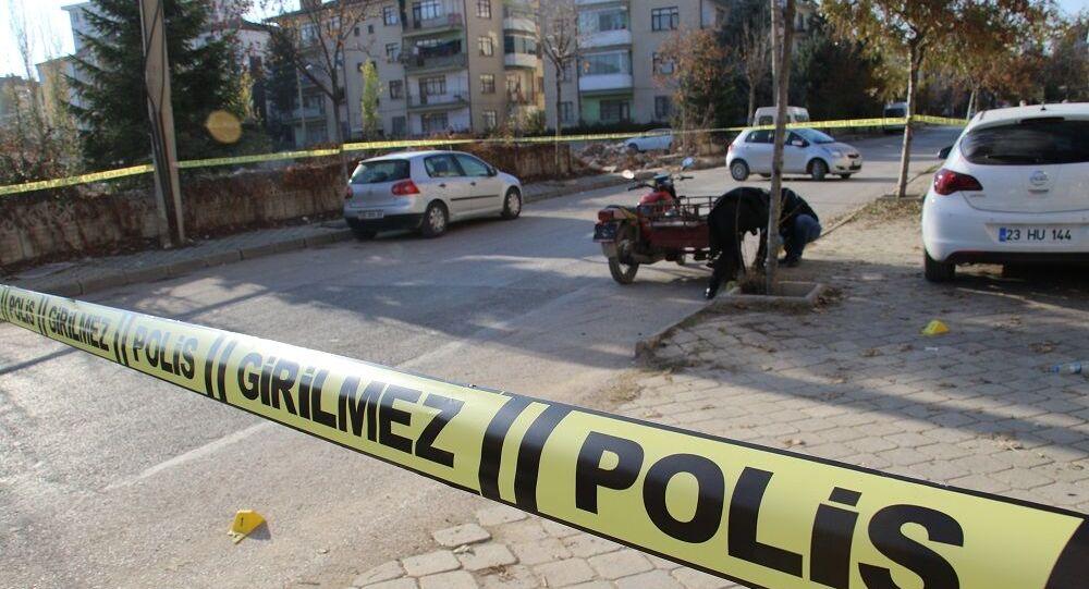 Polis, sokak, olay yeri
