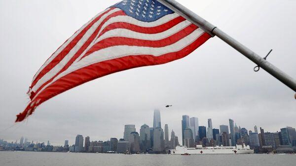 ABD bayrağı, New York - Sputnik Türkiye