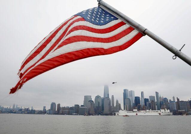 ABD bayrağı, New York