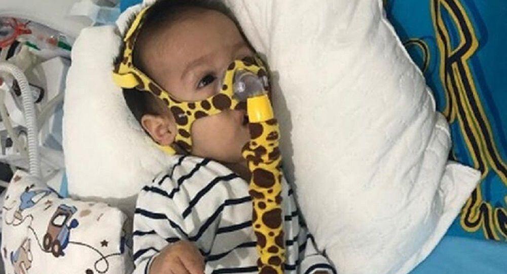 Düzce'de, SMA Tip1 hastası 15 aylık Muhammet Yiğit Tezcan