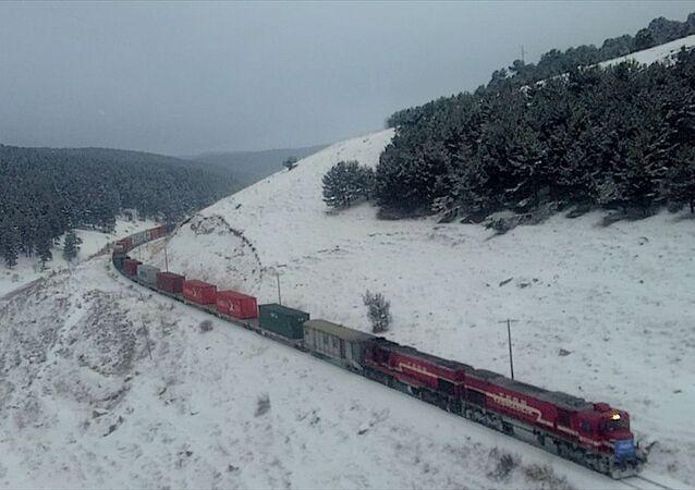 Türkiye'den Çin'e gidecek ilk blok ihracat treni