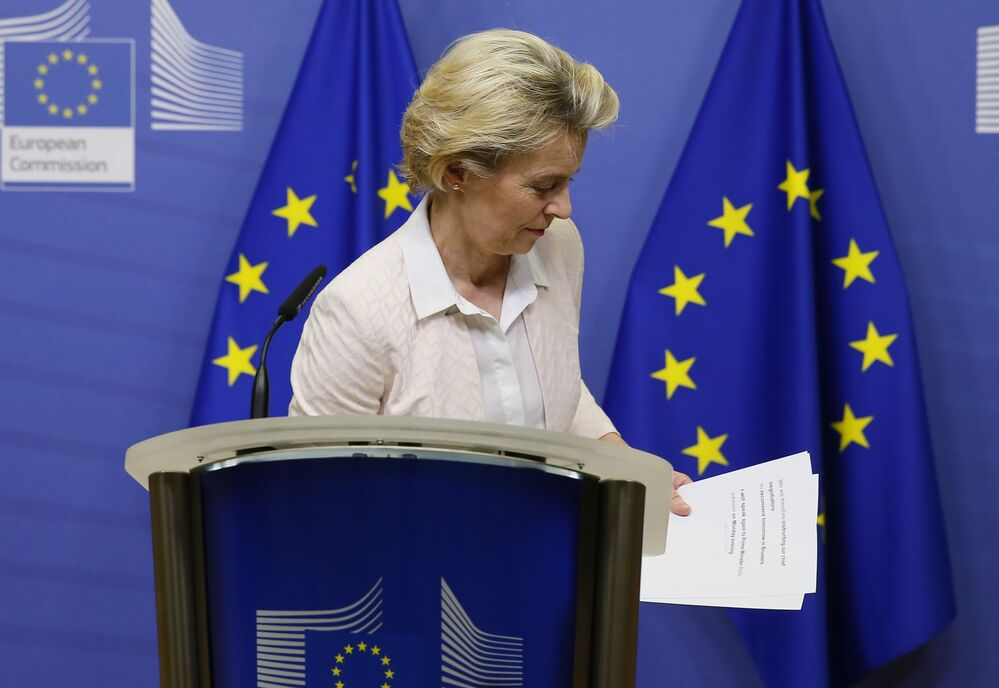 Listenin 4. sırasında AB Komisyonu Başkanı Von der Leyen yer aldı.