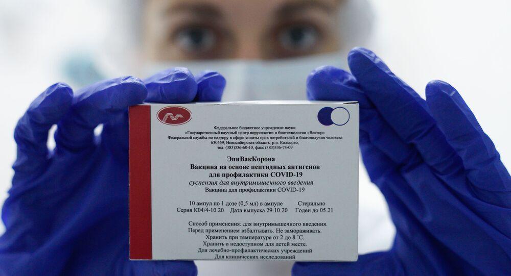 EpiVakKorona, koronavirüs, aşı, Rusya