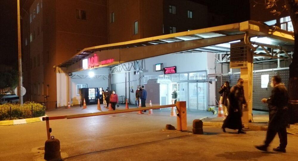Yemekten zehirlenen 200 işçi hastaneye kaldırıldı