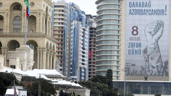 Bakü'nün Azadlık Meydanı'nda Zafer Geçidi töreni düzenlendi. - Sputnik Türkiye