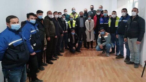 Artvin, belediye işçileri - Sputnik Türkiye