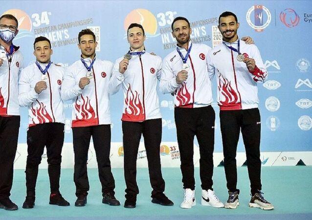 Avrupa Erkekler Artistik Cimnastik Şampiyonası'nda Türkiye ikinci oldu