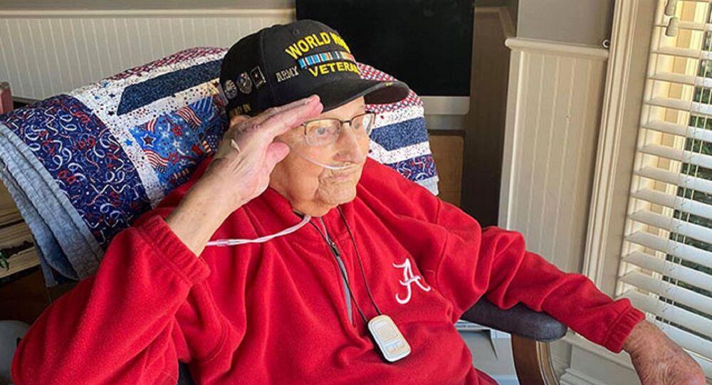 ABD'de İkinci Dünya Savaşı gazisi Binbaşı Lee Wooten