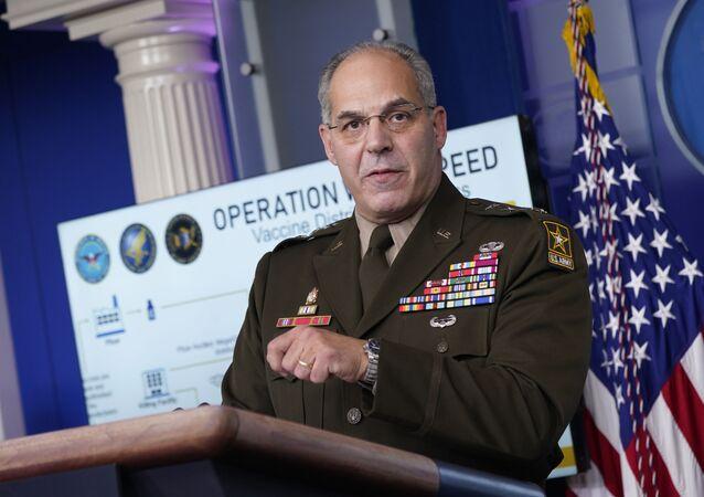 ABD'nin aşı dağıtım programı Warp Speed Operasyonu'nun baş sorumlusu General Gus Perna