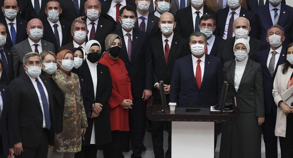 Süleyman Soylu, Fahrettin Koca, Murat Kurum