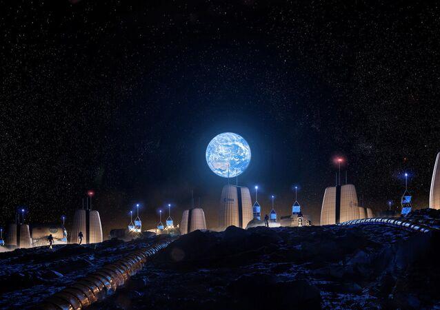 Ay'da inşa edilecek evler
