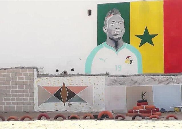 Mbaye Diagne'nin Senegal'de yenilettiği ilkokul