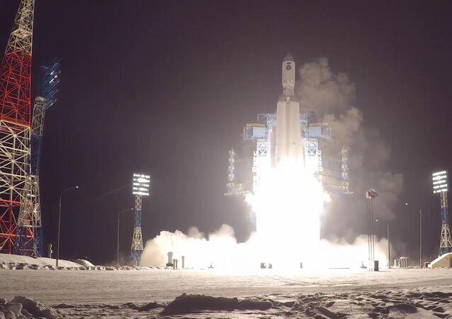 Rusya Hava ve Uzay Kuvvetleri tarafından Angara A-5 tipi ağır roketin ikinci fırlatma denemesi