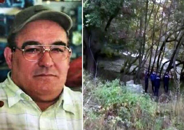 Kırşehir'in Çiçekdağı ilçesinde 2013 yılında 38 yerinden bıçaklanarak öldürülen kişinin, 7 yıl sonra gözlük ve iç çamaşırı markasından yola çıkılarak gurbetçi Mehmet Dıvar (55) olduğu tespit edildi.