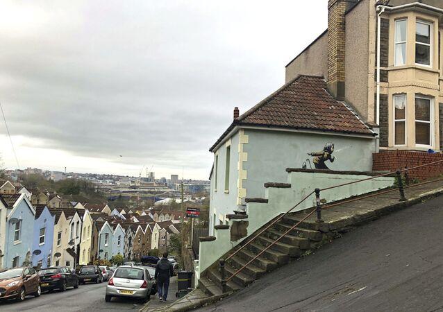 Banksy, Aachoo!! (Hapşu), Bristol