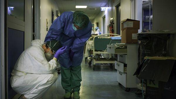 İtalya, koronavirüs, hastane - Sputnik Türkiye
