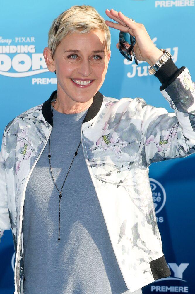 2. ABD'li TV sunucusu Ellen DeGeneres (84 milyon dolar)