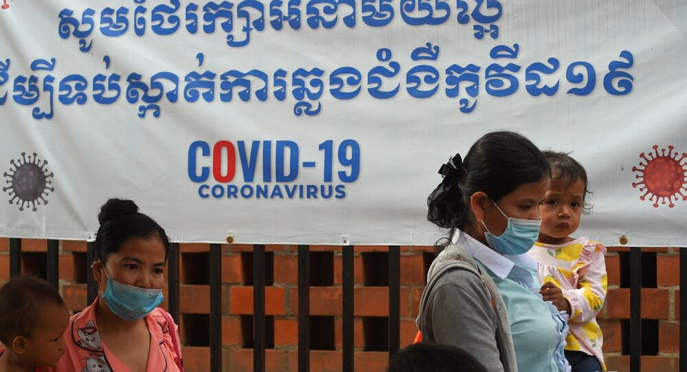 Kamboçya - maske - koronavirüs