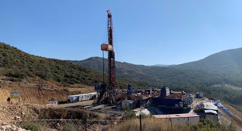 Seferihisar'da jeotermal enerji santrali (JES) kurulması çalışmaları