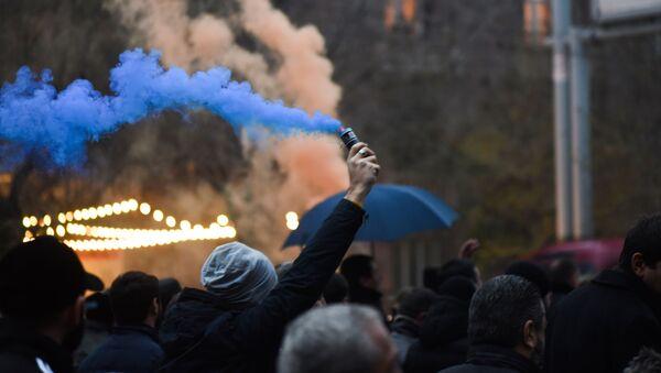 Ermenistan, protesto - Sputnik Türkiye