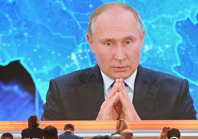 Rusya lideri Vladimir Putin,