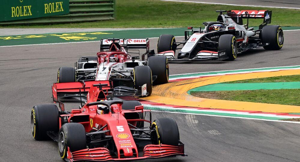 F1 Emilia Romagna Grand Prix, İtalya