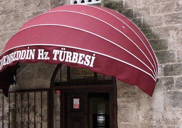 Bolu'nun Göynük ilçesindeki Akşemseddin Türbesi