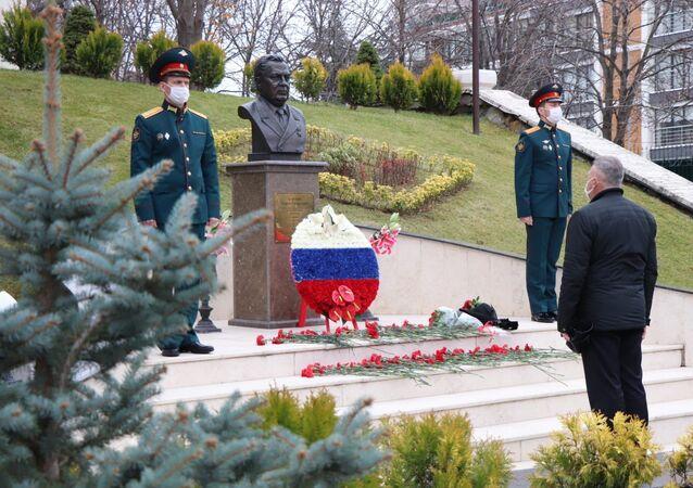 Rus elçi Karlov, ölümünün 4. yılında Ankara'da anıldı