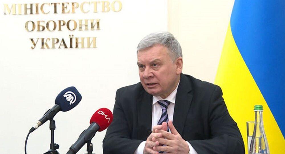 Ukrayna Savunma Bakanı Andriy Taran
