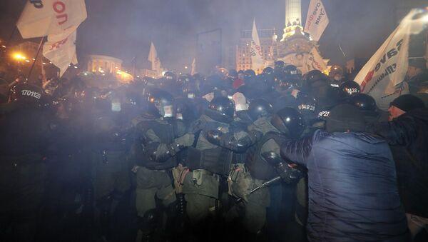 Ukrayna, protesto - Sputnik Türkiye