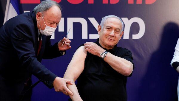 Netanyahu, koronaviüs aşısı - Sputnik Türkiye