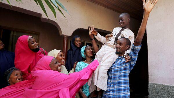 Batı Afrika ülkesi Nijerya'nınKatsina eyaletinde dün kaçırılan 80 medrese öğrencisinin bugünkurtarıldığı bildirildi. - Sputnik Türkiye